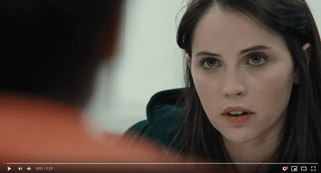 Felicity Jones' Monologue in True Story